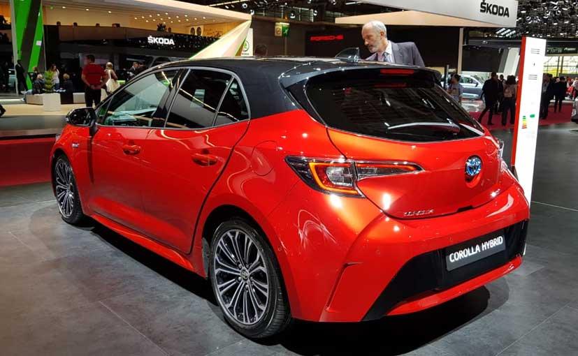 Ned D Toyota Corolla Hybrid X October