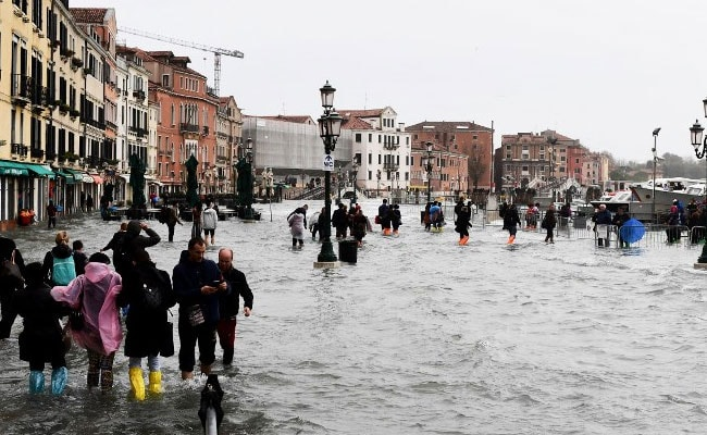 Italy Hit By Powerful Rainstorms, Flooding In Venice