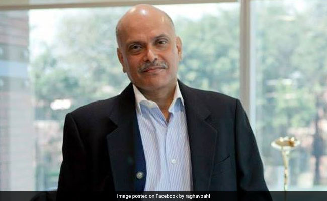 'Trumped Up Charge', Says Media Owner Raghav Bahl After Tax Raids