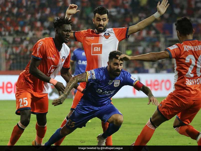 Indian Super League: Goa Hammer Five Past Hapless Mumbai