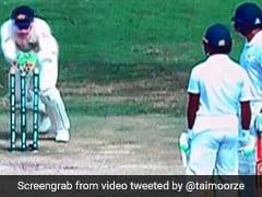 पाकिस्तानी बल्लेबाज को आस्ट्रेलिया ने यूं बनाया बेवकूफ, Video देखने के बाद हंस पड़ेंगे आप