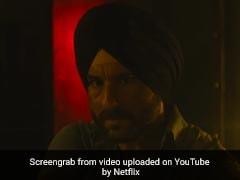 How Saif Ali Khan Convinced Himself To Play Sartaj Singh In <I>Sacred Games</I>