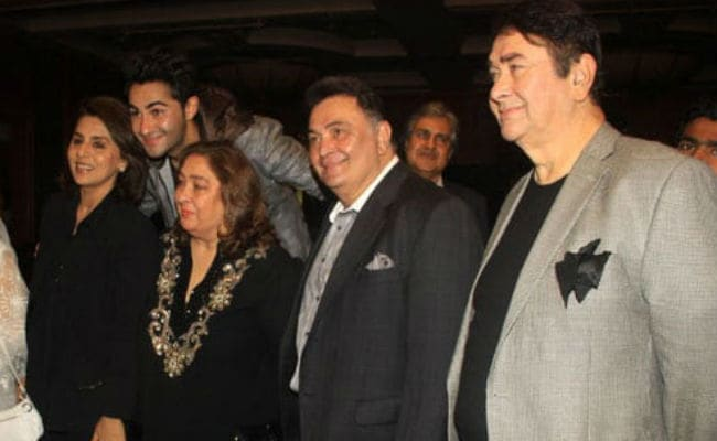 Randhir Kapoor Says Speculation That Brother Rishi Has Cancer 'Is All Rumour'
