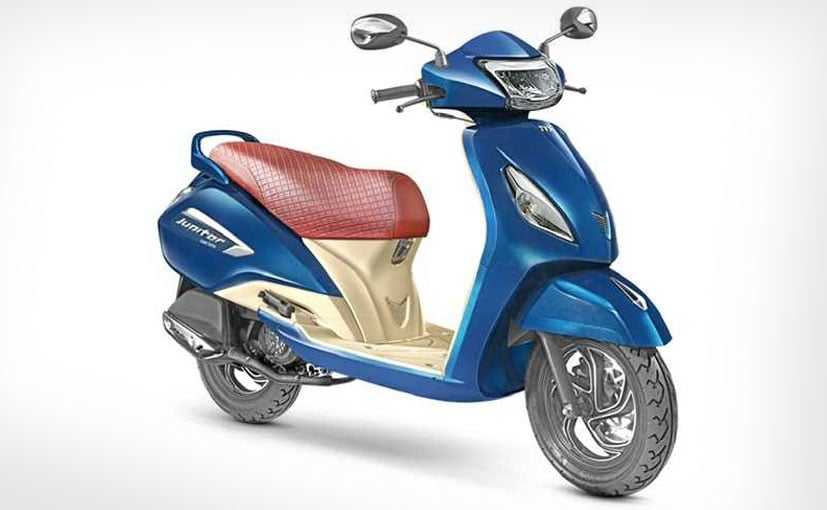 TVS Jupiter Grande Edition Launched In India; Prices Start At ₹ 55,936