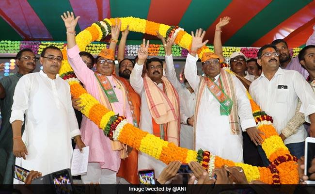 Odisha Congress Leader Padmalochan Panda Joins BJP