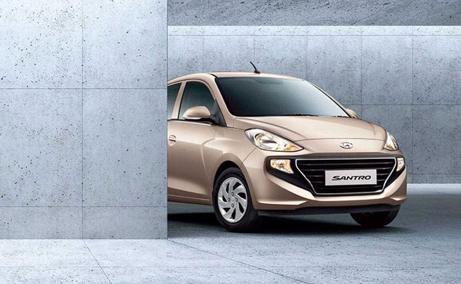 The 2018 Hyundai Santro will be launched in India on 23 October, 2018