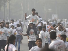 """BJP Workers Clash At """"Run For Unity"""" Event In South Delhi"""