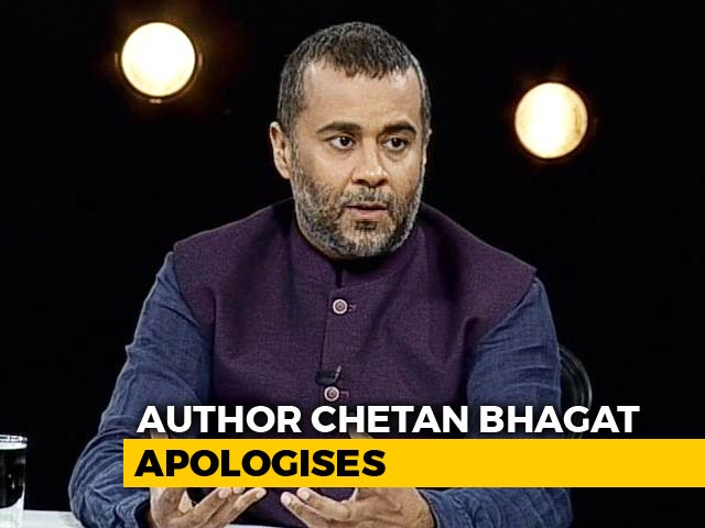 """Video : """"Was Going Through A Phase"""": Chetan Bhagat In #MeToo Apology Note"""