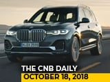 Video : BMW X7 Unveiled, Nissan Kicks SUV, Hero Destini