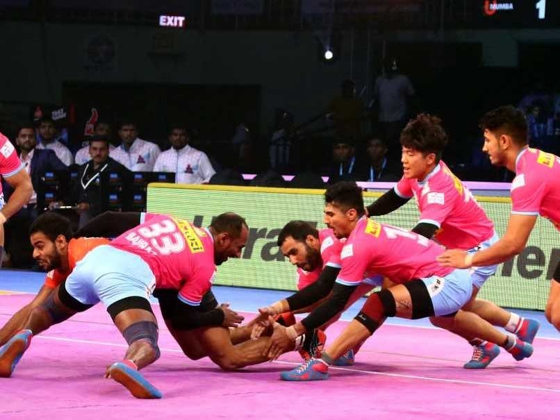 Pro Kabaddi League: U Mumba Beat Jaipur Pink Panthers, Bengaluru Bulls Defeat Tamil Thalaivas