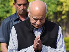 MJ Akbar Denies Meeting Priya Ramani In Hotel Room, Hearing To Continue