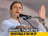 "Video : ""Their Dharma Is Corruption"": Rahul Gandhi On Shivraj Chouhan Government"