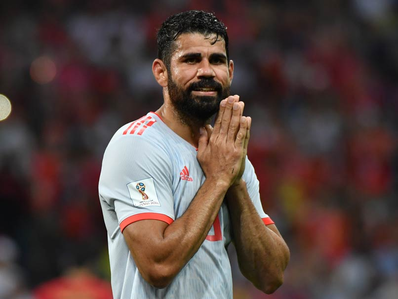 Injured Diego Costa Misses Out On Spain Squad
