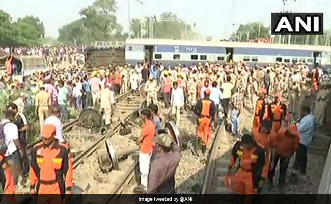 PM Modi Condoles Loss Of Lives In Train Derailment In UP's Raebareli