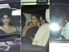 Pics From <I>Kuch Kuch Hota Hai</I> After Party: Janhvi Kapoor, Shweta Bachchan Nanda, Gauri Khan