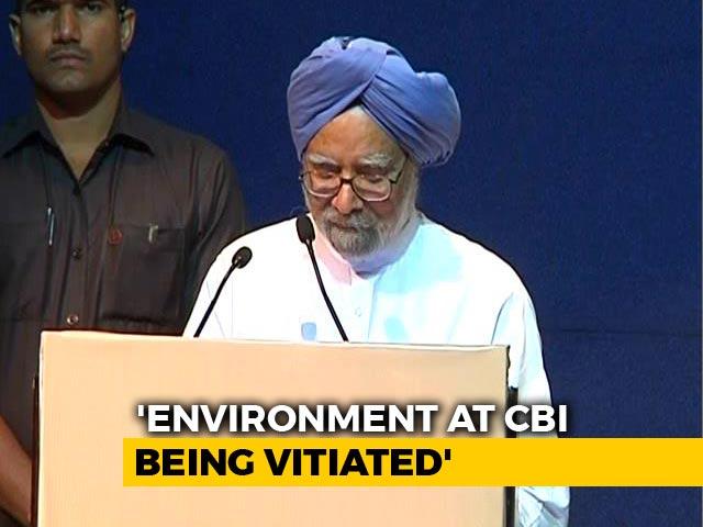 Video : Modi Government Damaging Institutions Like CBI, Says Manmohan Singh