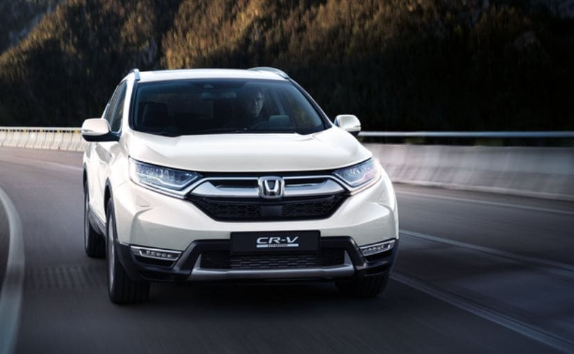 Honda Cr V Hybrid Suv Achieves Fuel Economy Of 5 3l 100km And Co2