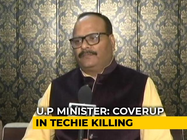 Video : Senior Cops Tried To Cover Up Apple Executives Murder, Says UP Minister