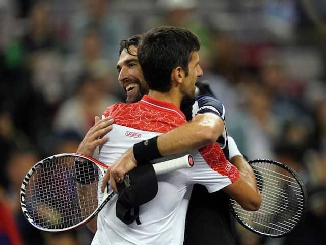 Novak Djokovic Masters Jeremy Chardy Again To Reach Shanghai 3rd Round