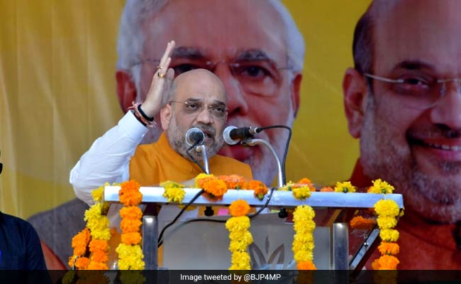 Amit Shah To Launch BJP's Poll Campaign In Mizoram Tomorrow