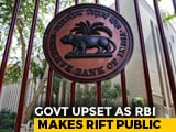 Video : Government Worried About RBI's Hawkish Monetary Stance: Report