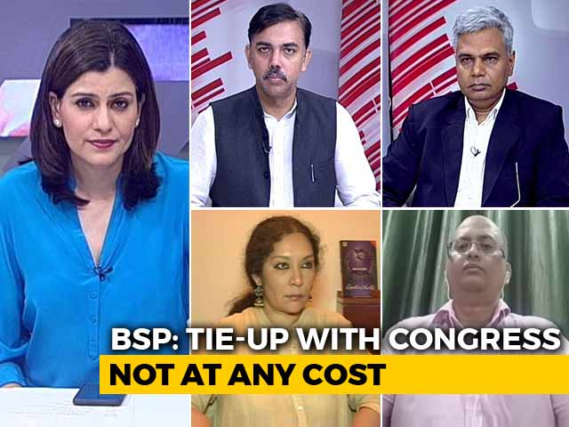 Video : Mayawati Dumps Congress In 2018: Impact 2019?