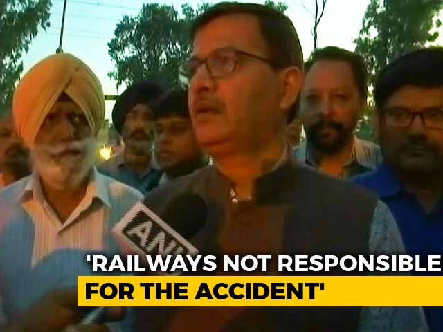 Video : Railways Not Responsible For Amritsar Accident, Says Top Transport Official