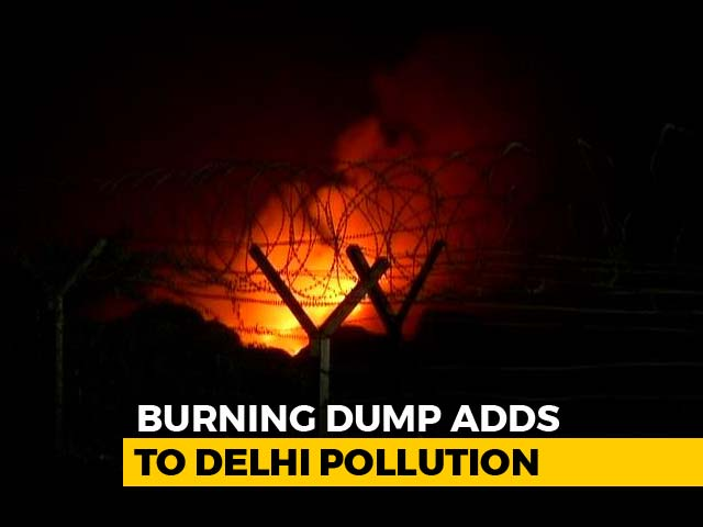 Video : As Delhi Struggles With Poor Air Quality, 4 Fire Incidents In A Day