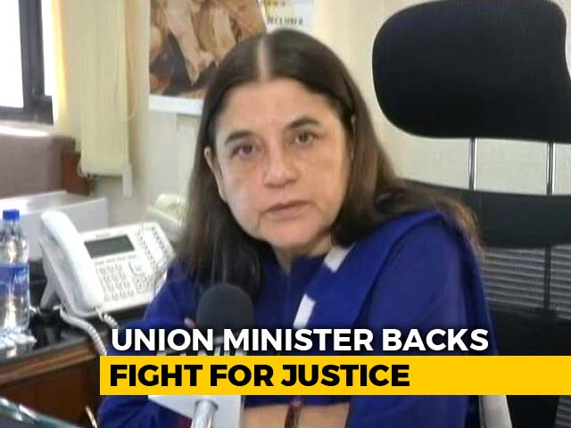 "Video : ""You Never Forget"": Maneka Gandhi Wants No Time Limit For #MeToo Cases"