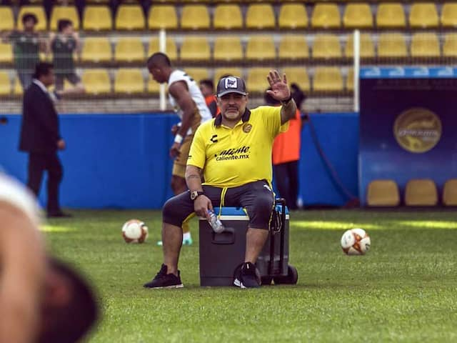 """""""It Was A Step Backwards"""": Diego Maradona Opens Up On His Cocaine Addiction"""
