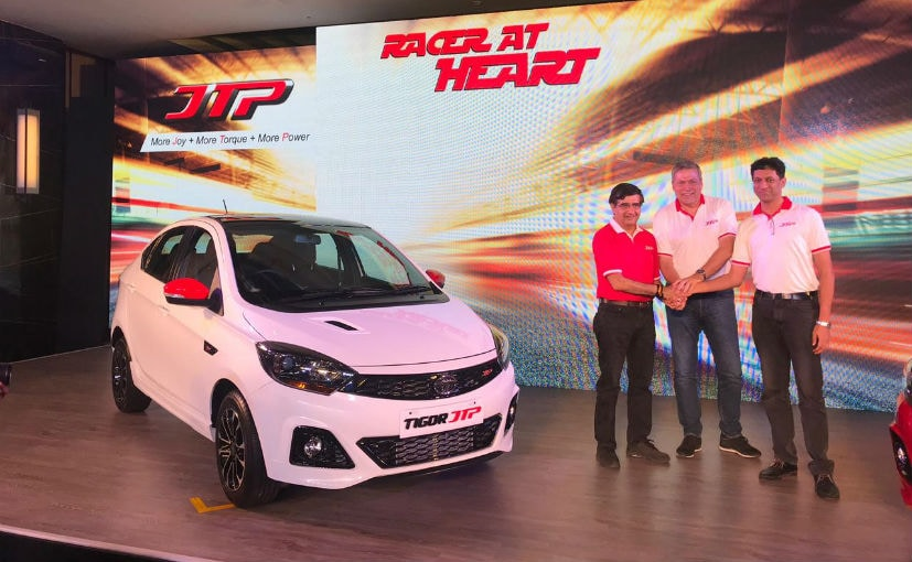 The Tiago JTP and Tigor JTP will produce 112 bhp from the 1.2-litre petrol engine