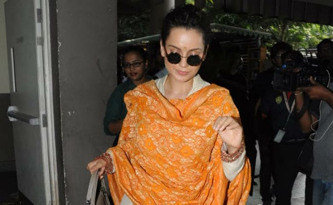 Kangana Ranaut Reacts After Vikas Bahl's Ex-Wife Tweets In His Defence