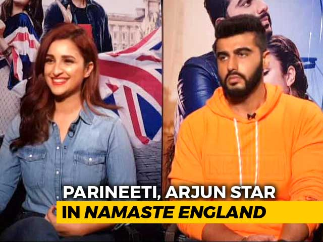 Video : Arjun And Parineeti On <i>Namaste England</i>, Competition & #MeToo