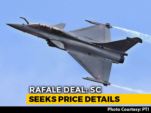 Video : Want Rafale Price Info, Says Supreme Court; No Can Do, Says Government