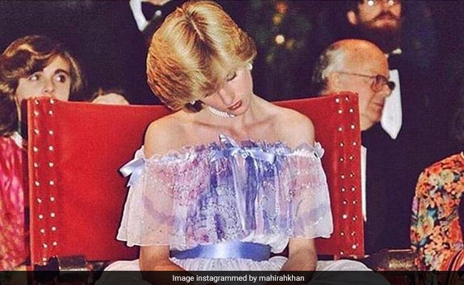 Mahira Khan's Wednesday 'Halat', Described With A Pic Of Princess Diana