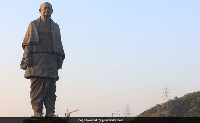 In 11 Days, Over 1.28 Lakh Tourists Visit Statue Of Unity