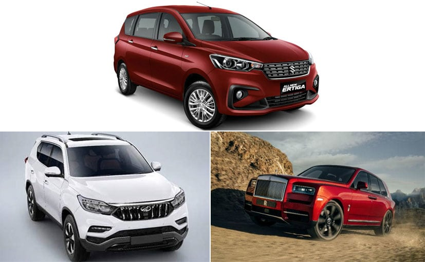 Upcoming Car Launches In November 2018