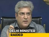 Video : Raids At 16 Spots In Delhi, Gurgaon Linked To AAP Minister Kailash Gahlot