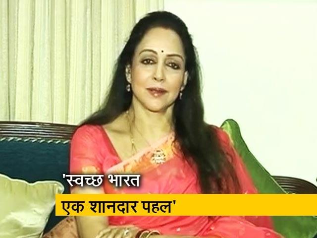 Videos : NDTV Cleanathon में बोलीं हेमा मालिनी, काश स्वच्छ भारत मिशन बहुत पहले शुरू हो जाता
