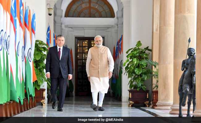 India, Uzbekistan Ink 17 Agreements For Cooperation In Various Sectors