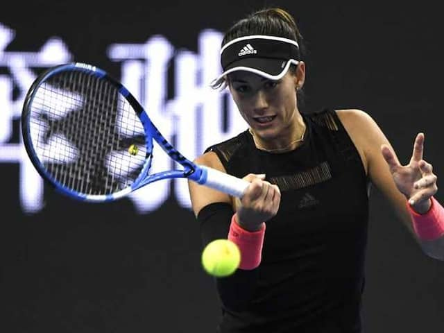 Garbine Muguruza Puts Celebrations On Hold To Focus On Rescuing Season