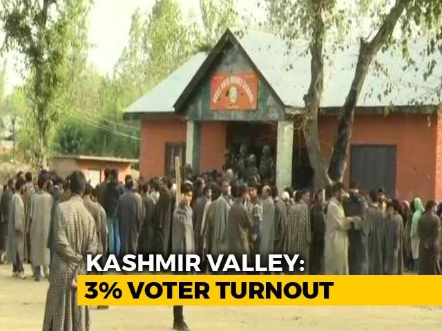 Video : Jammu Sees Brisk Voting, Barely 3% In Kashmir Valley In Local Body Polls