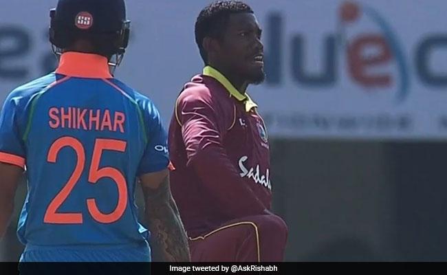 IND vs WI: धवन को आउट करने के बाद गेंदबाज ने गब्बर स्टाइल में मनाया जश्न, हंस पड़े शिखर, देखें VIDEO