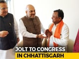 Video : Major Setback For Congress In Chhattisgarh, Senior Leader Joins BJP