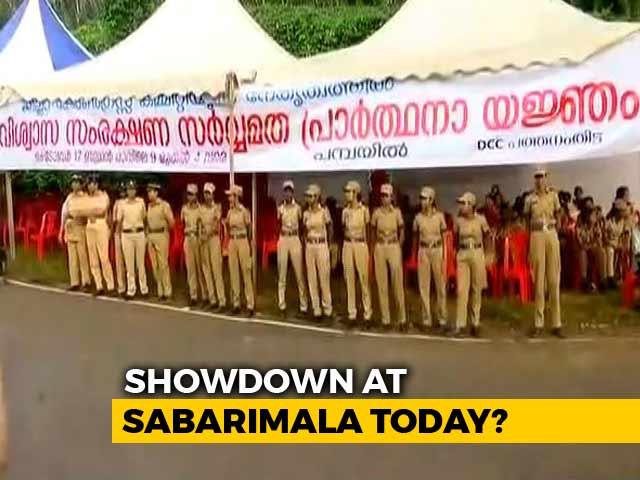 Video : Kerala Tense As Women Head To Sabarimala Amid Protests, Heavy Security