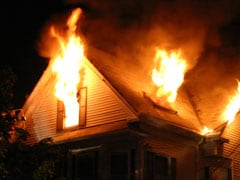 Man Trying To Burn Spiders Sets House On Fire