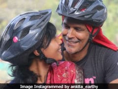 Milind Soman And Wife Ankita Konwar Redefine Romance In This Pic And How
