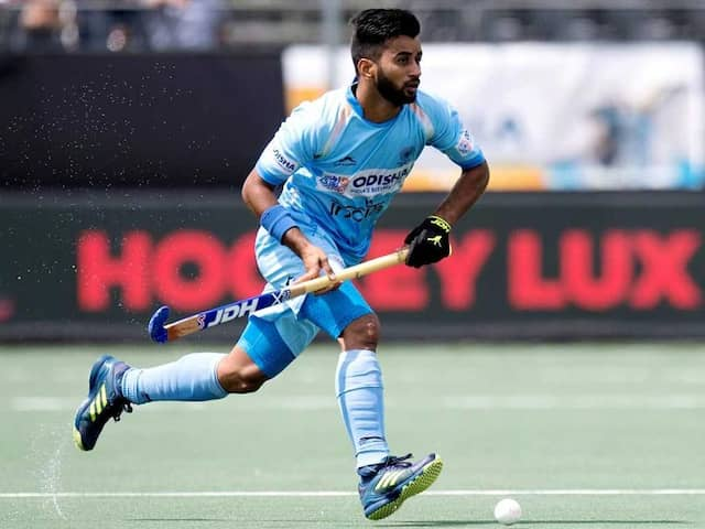 Need To Avoid Complacency During Hockey Asian Champions Trophy, Says Manpreet Singh