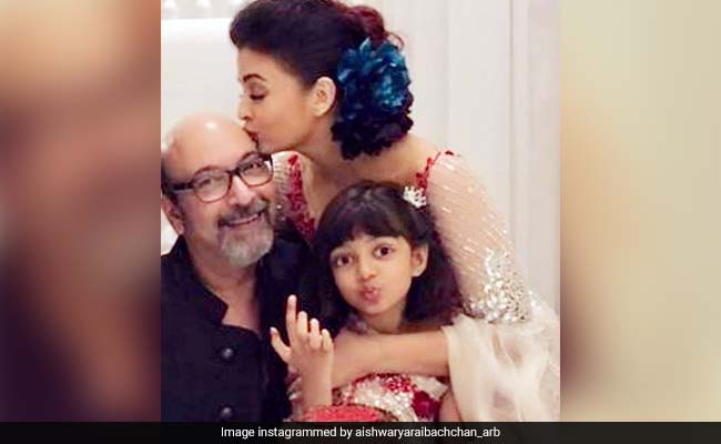 In Aishwarya Rai Bachchan's Birthday Post For Mickey Contractor, It's Daughter Aaradhya Who Is Stealing The Show