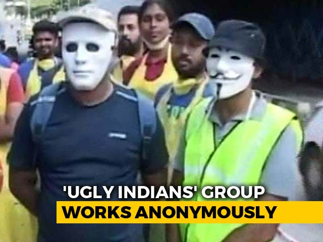 Video : Bengaluru's 'Ugly Indians' Give A New Lease Of Life To A Dingy Underpass